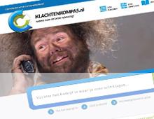 Beeld screenshot Klachtenkompas
