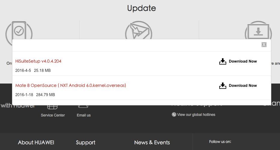 Huawei zoekplaatje website