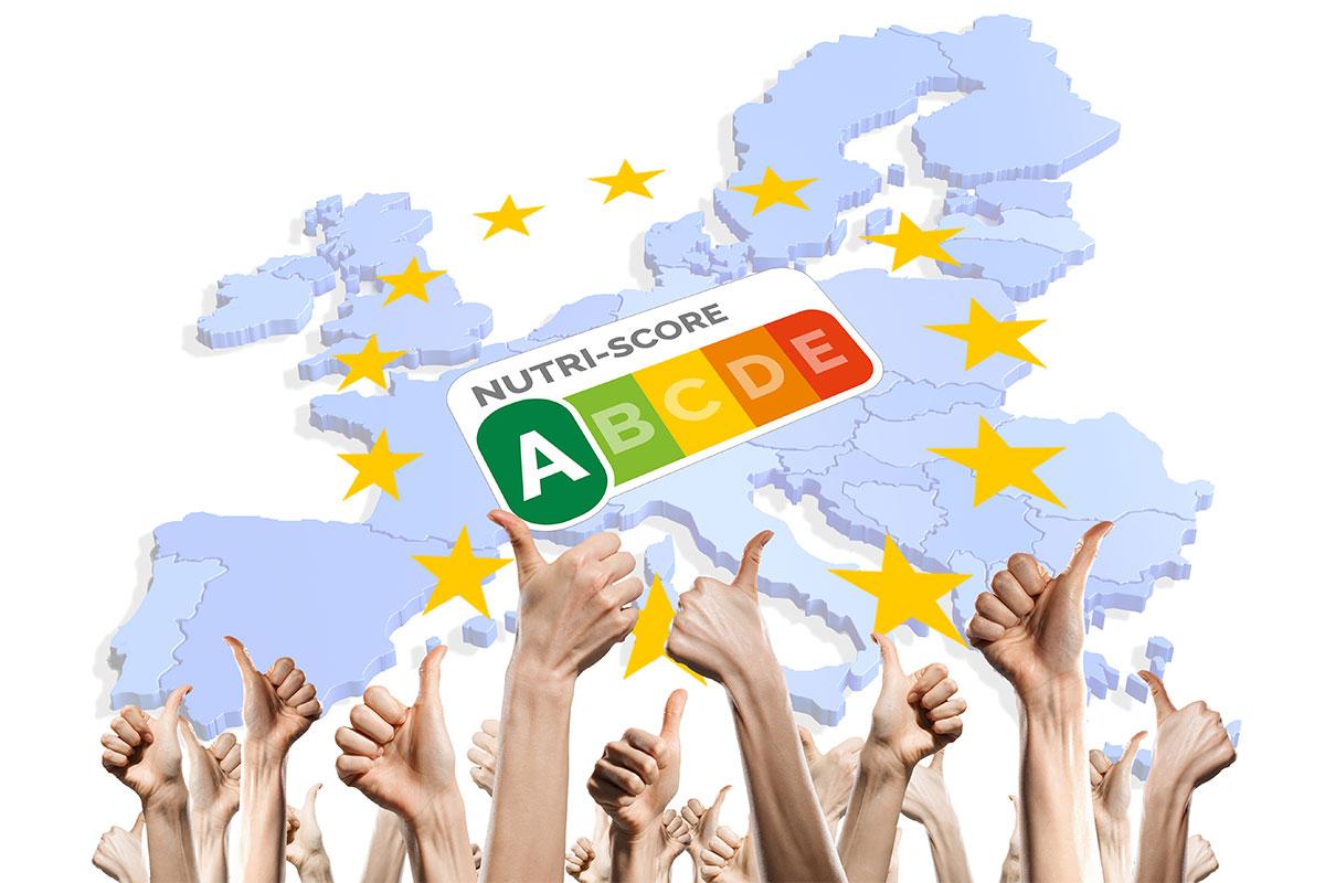 Europa Nutriscore handen