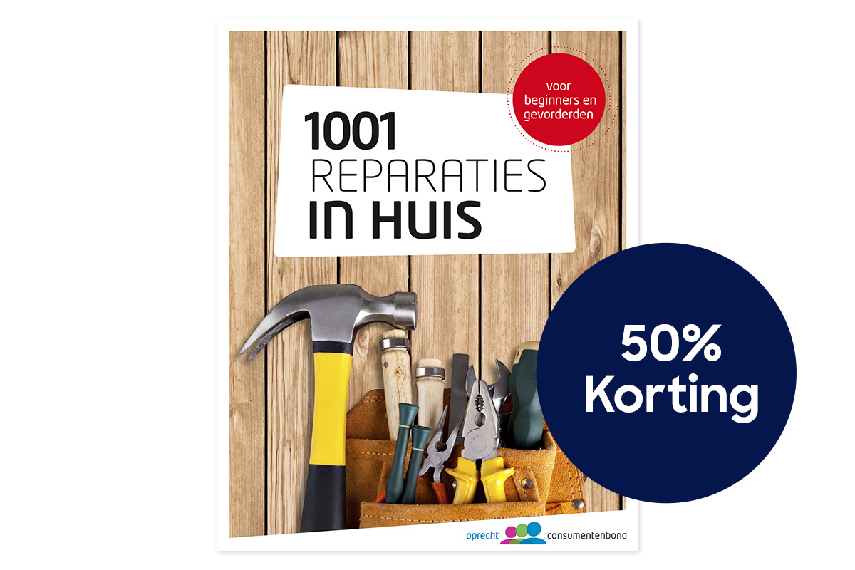 50% 1001 Reparaties in huis 2019