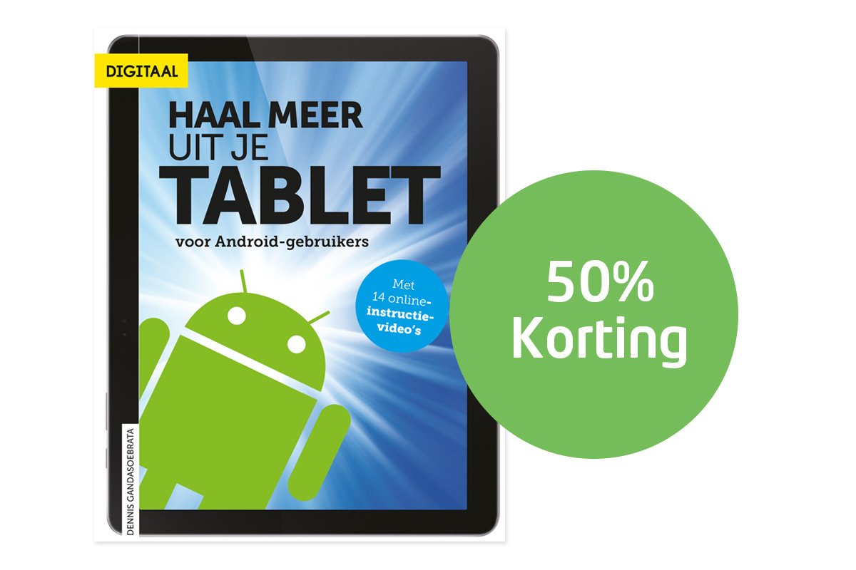 50% korting Haal meer uit je tablet android 1200x800