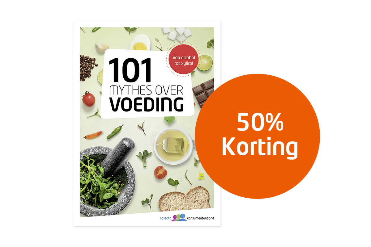 50% korting 101 Mythes over Voeding 1200x800