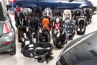 Verzameling autostoeltjes