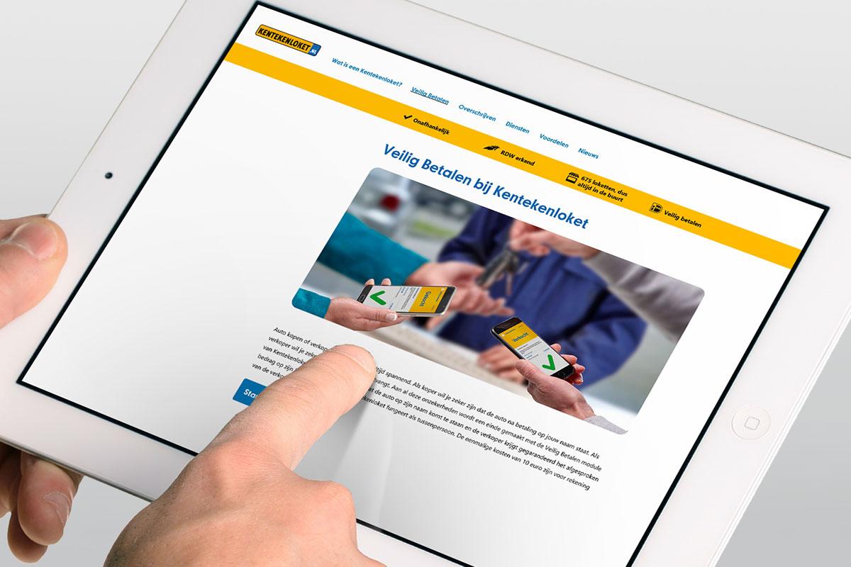 Eerste Indruk Veilig Betalen Met Kentekenloket Nl L Consumentenbond