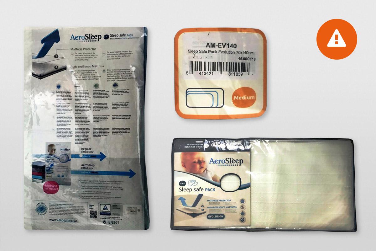 Aerosleep Matrasbeschermer 90x200.Babymatrassen Test Deskundig Advies Consumentenbond