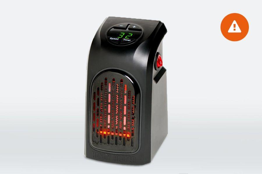 waarschuwing handy heater consumentenbond