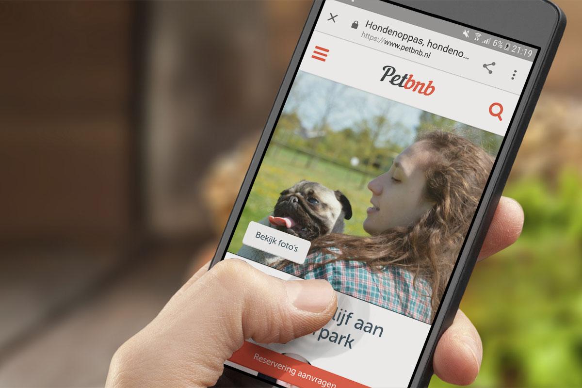 Petbnb_smartphone