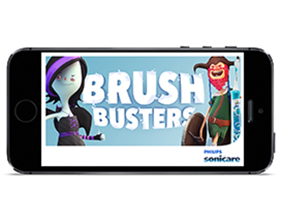 Philips Brush Busters app