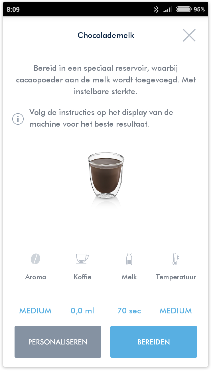 Coffee app screenshot 1