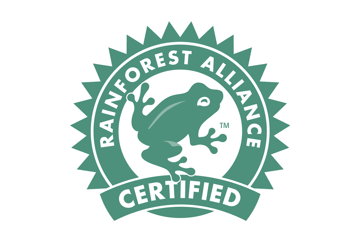 Keurmerk koffie Rainforest alliance