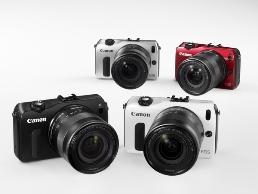 Canon EOS M vier kleuren 258x194