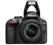 Nikon D3300 voorkant