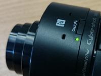 Sony QX10 NFC en aanuit