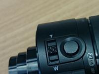 Sony QX10 knoppen