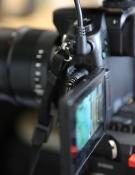Panasonic GH4 plug belemmert draaien scherm - klein