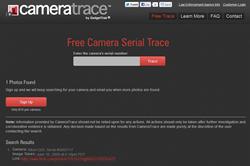 screenshot Cameratrace