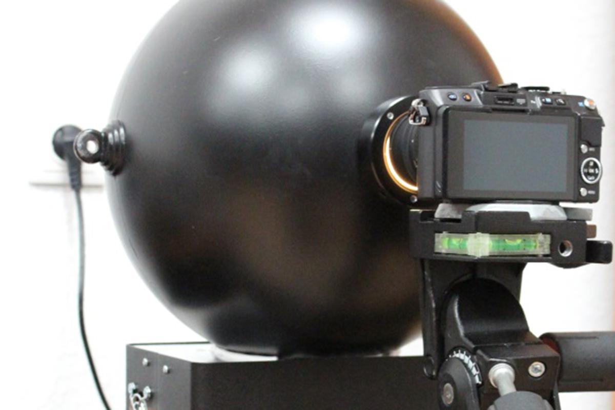 Hoe wij fotocamera testen reflectie bron in beeld