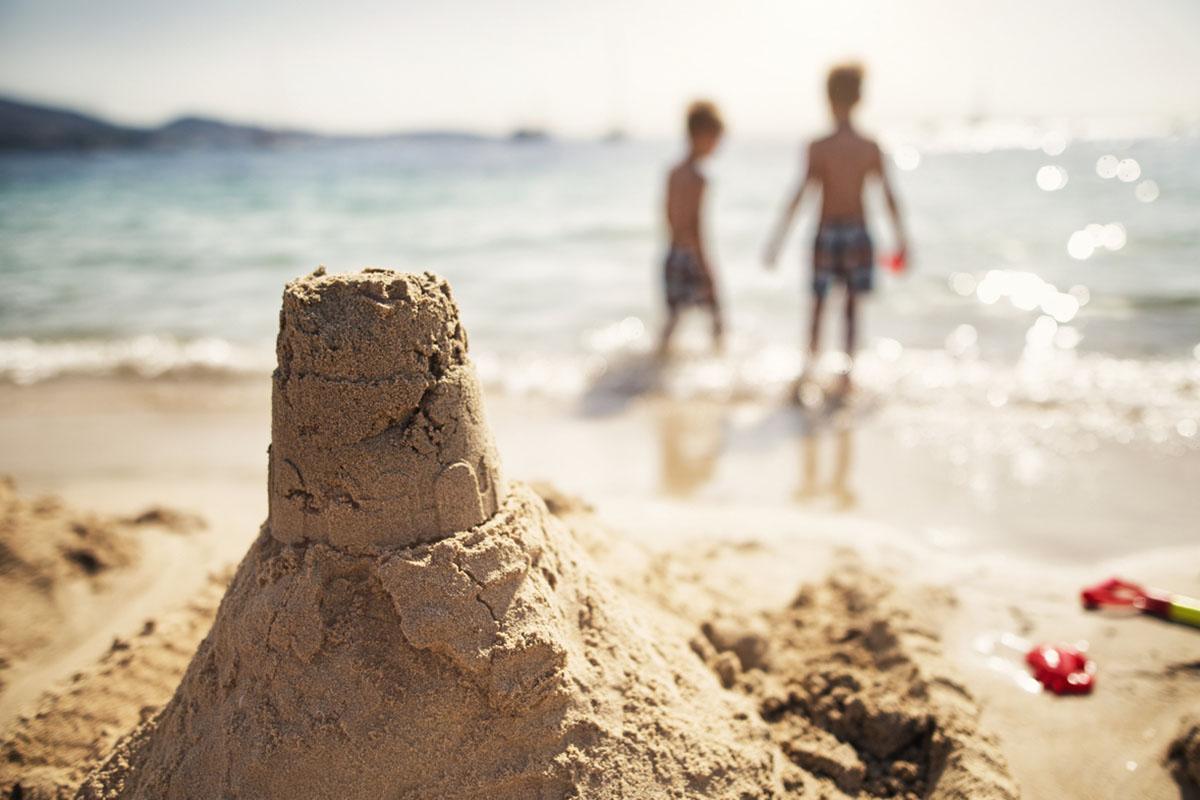 zandkasteel scherpte diepte