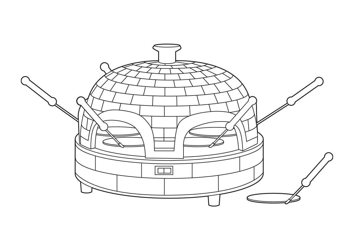 pizzarette-illustratie