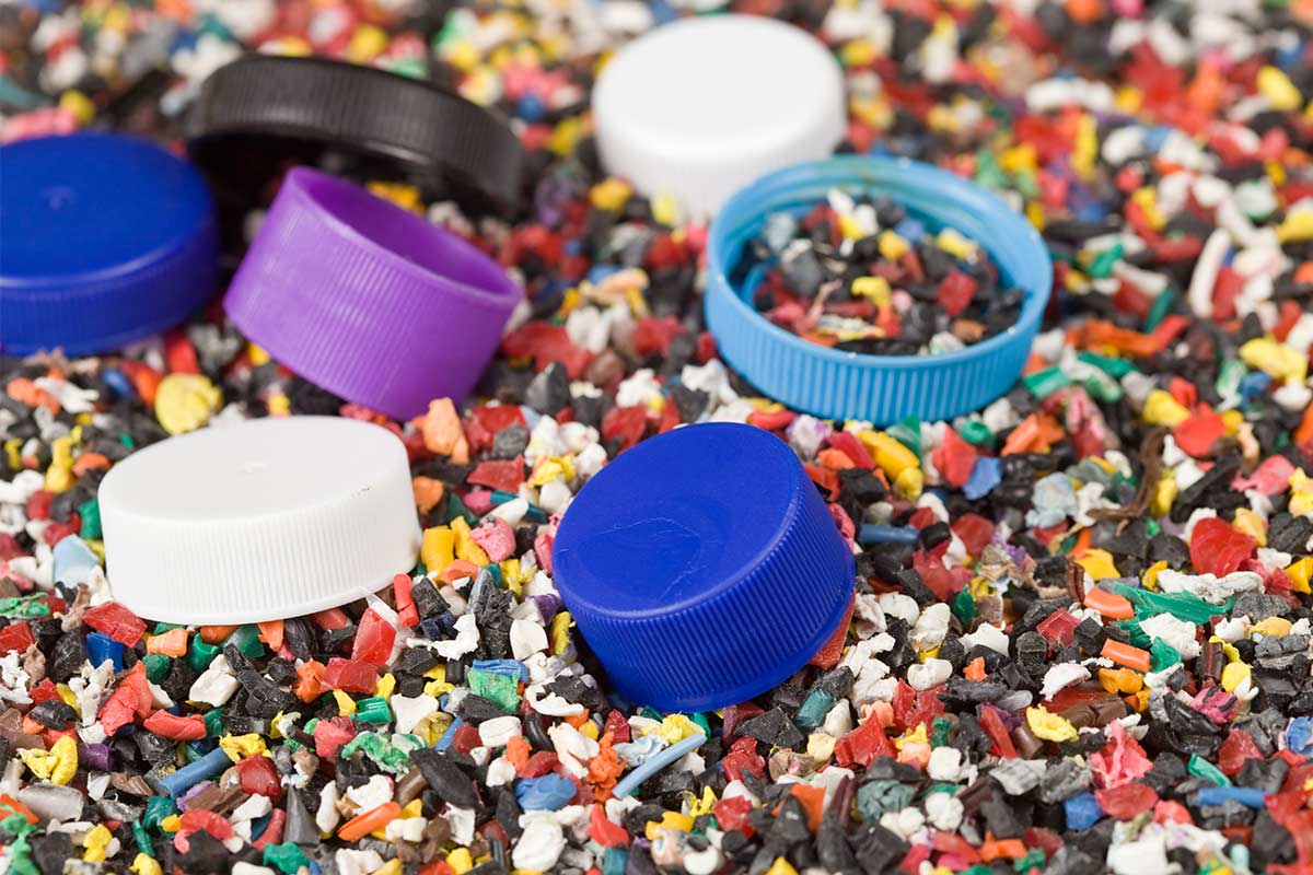 Plastic korrels
