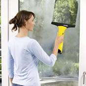 Trekker gebruikt op raam