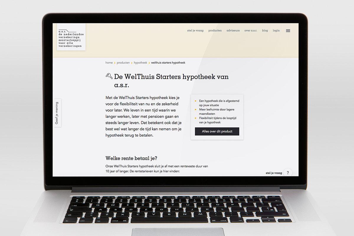 Review asr welthuis starters hypotheek consumentenbond for Maandlasten hypotheek
