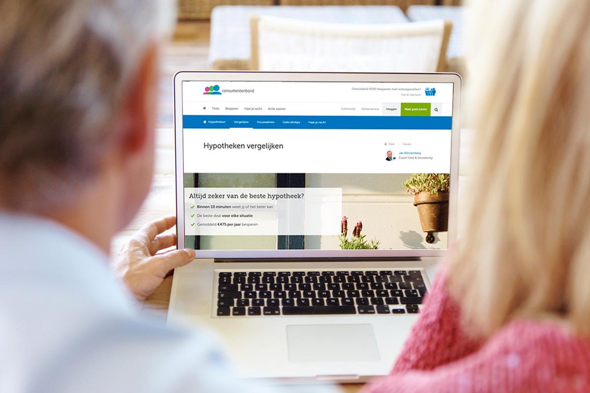 besparen huidige hypotheek