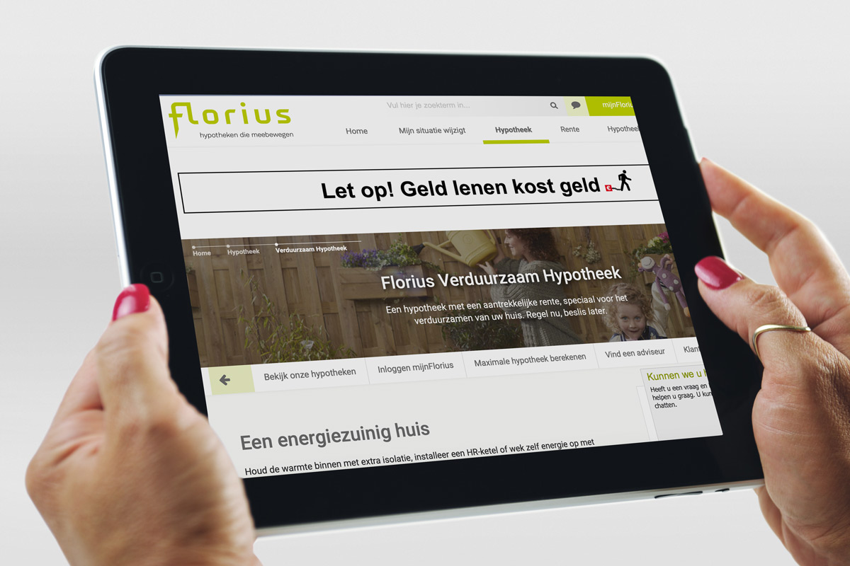 florius-website