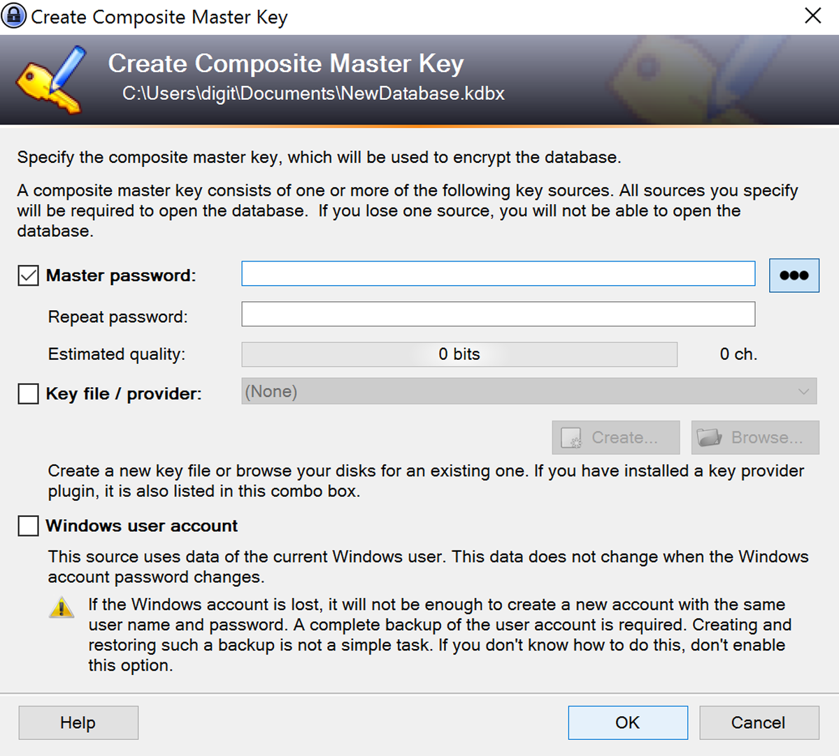 Keepass-stap1test