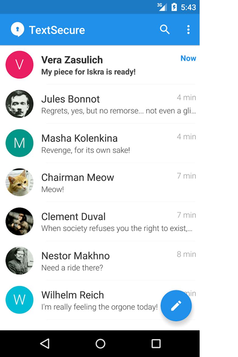 messenger-app-signal