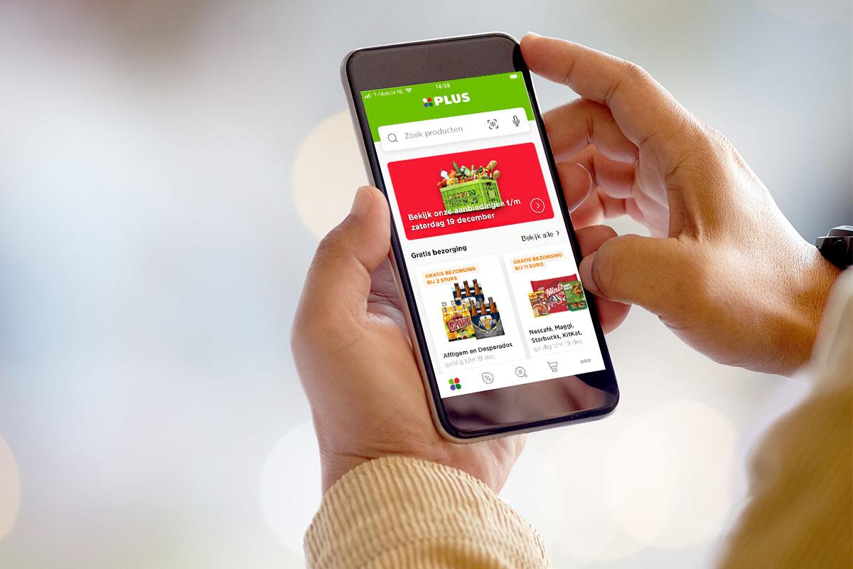 Plus supermarkt app