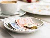 espresso betalen