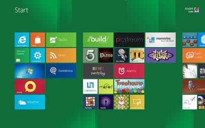 Screenshot Metro Interface