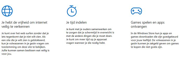 Windows 10 Family Safety