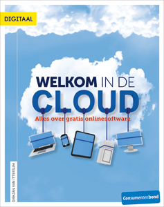 Cover Welkom in de Cloud, alles over gratis online-software