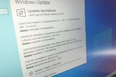 Windows update 10