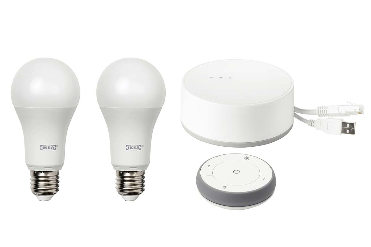 ikea maakt slimme verlichting in huis makkelijk en