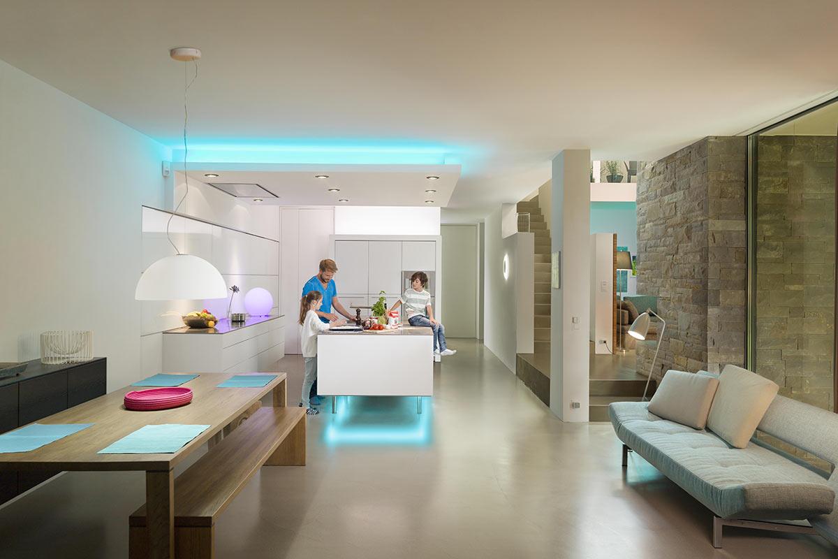 Osram Lightify Sfeerbeeld keuken