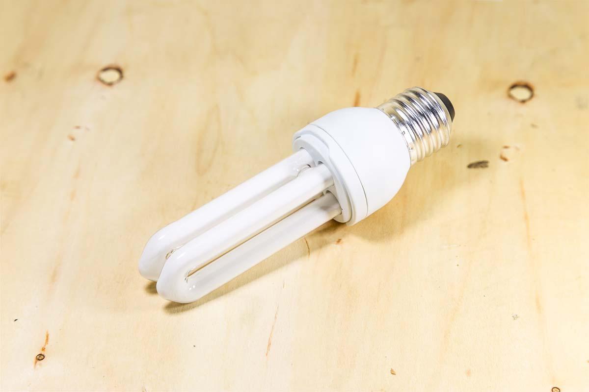 Spaarlamp-buisvorm