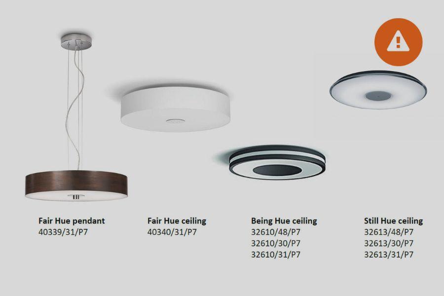 terugroepactie philips hue plafonni res consumentenbond. Black Bedroom Furniture Sets. Home Design Ideas