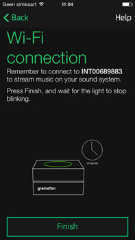 Gramofon audiostreamer