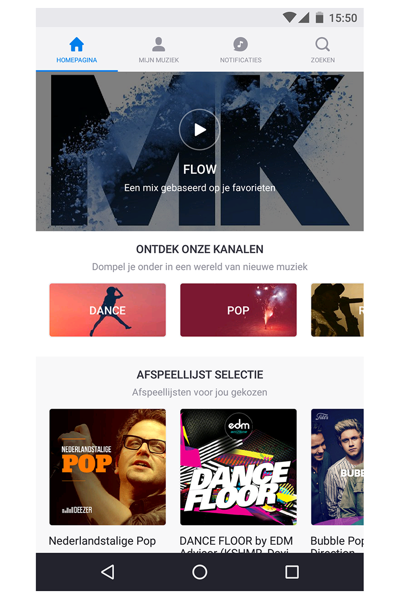Deezer-mobile-screenshot