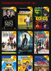 Videoland Unlimited films