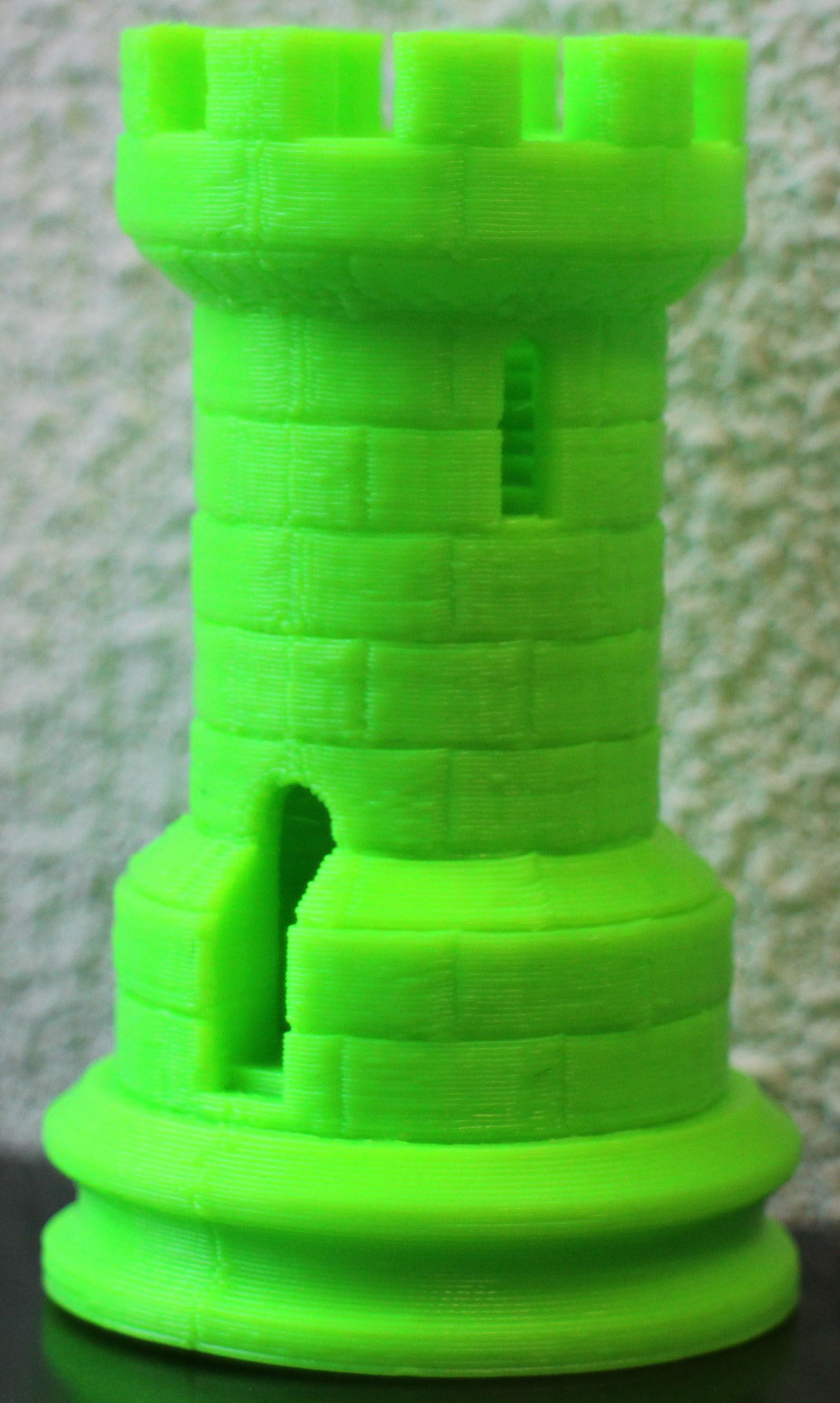 3D-print toren met wenteltrap