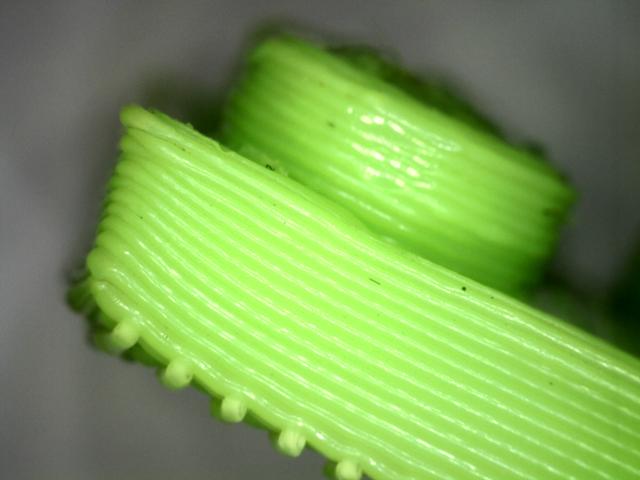 3D print van legoblokje - detail
