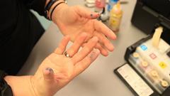 EcoTank vieze handen
