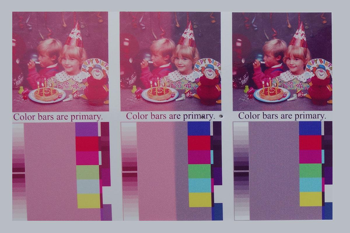 Inkcartridges Verkleuring 1