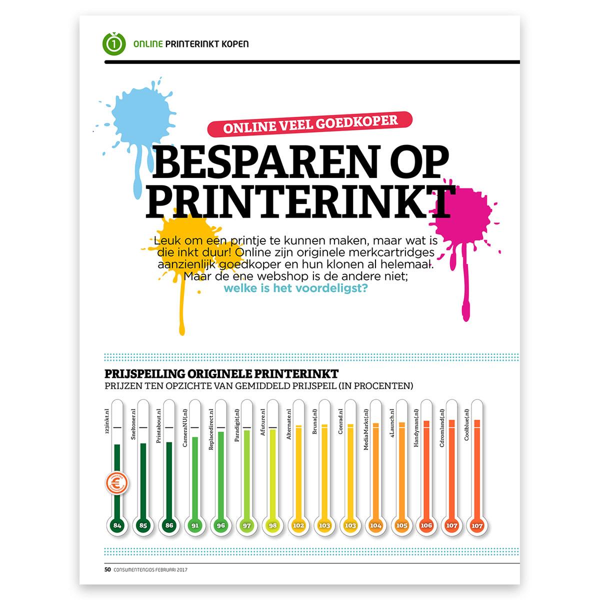 Slim inkt kopen - Goedkope cartridges - Digitaalgids maart 2016