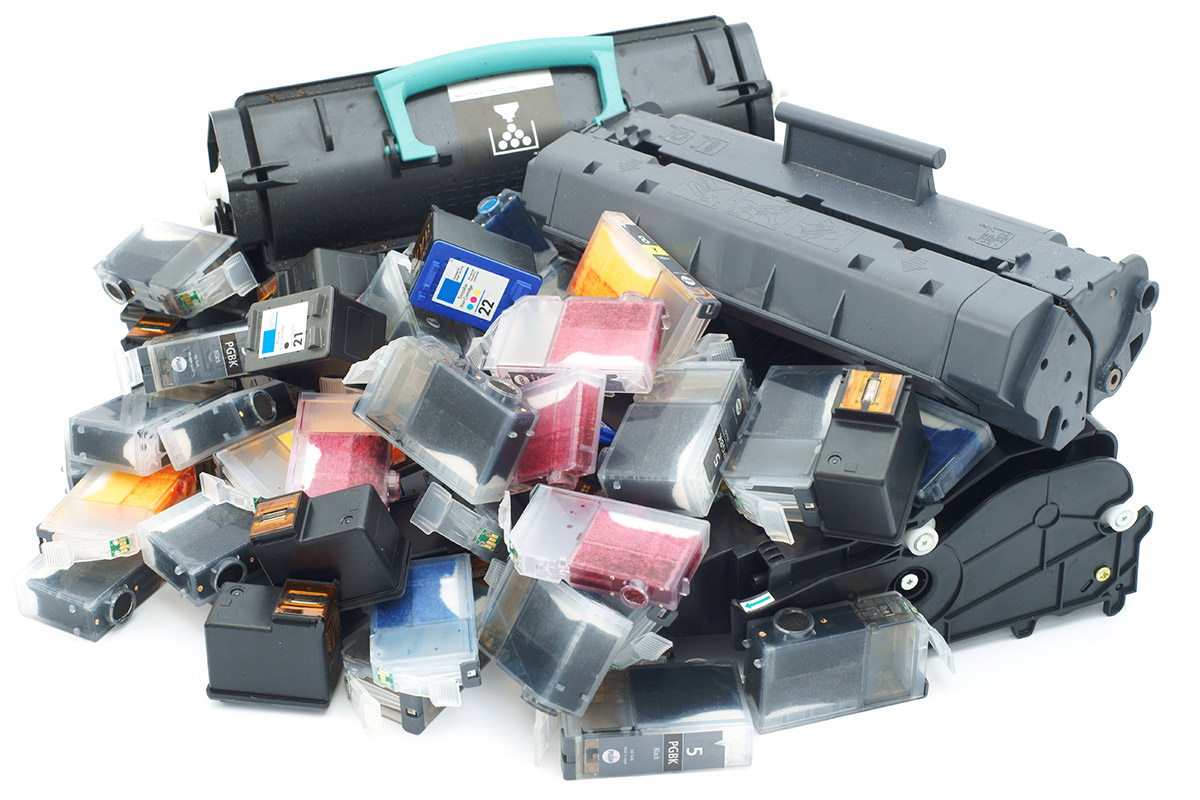 printers cartridges inleveren