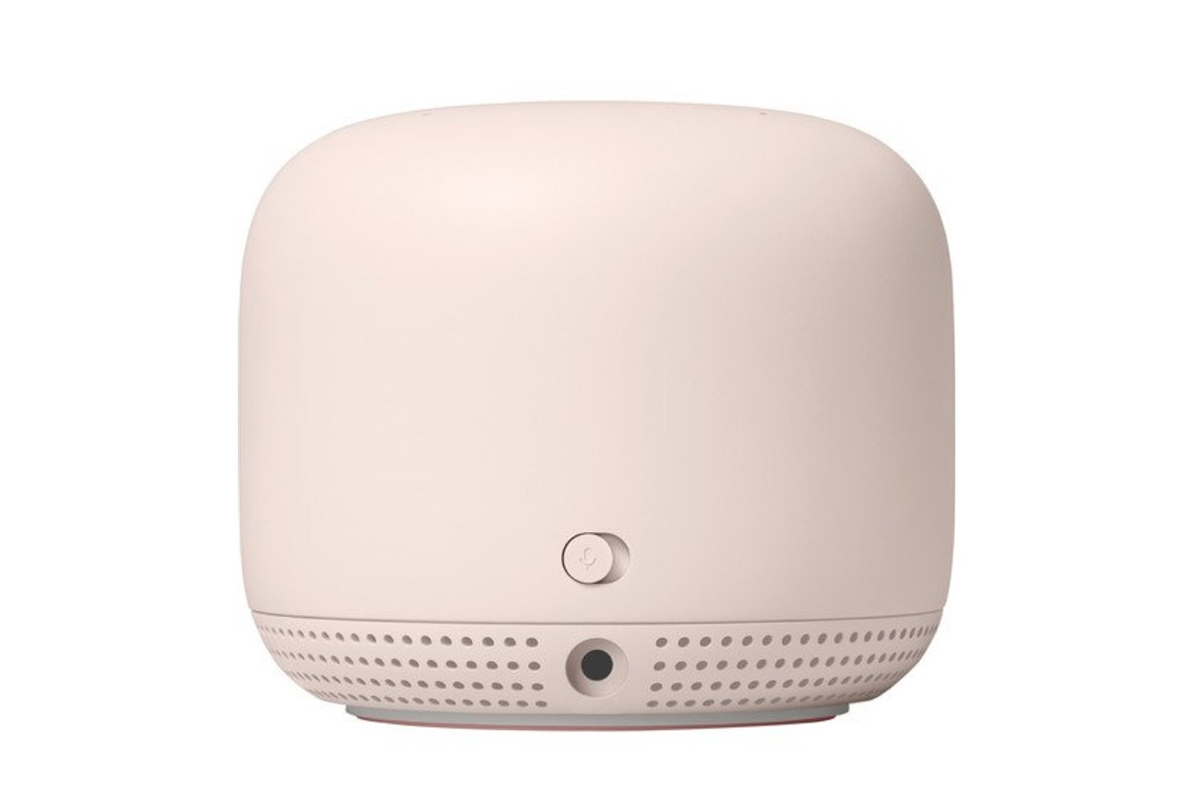 Google Nest Wifi mic knopje